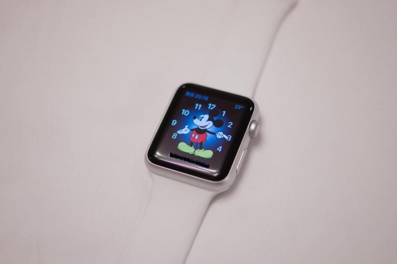 AppleWatchミッキー時計