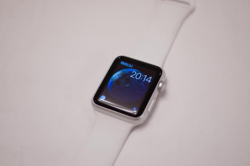AppleWatch地球時計