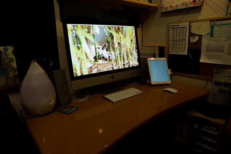 iMac 5Kディスプレイモデル購入レビュー_imacのある部屋