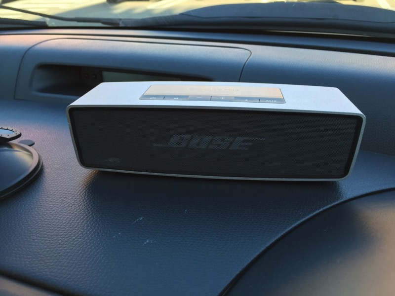BOSE sound linkimini 車載してみた