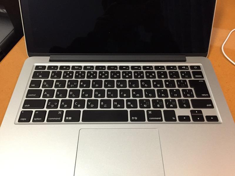 macbookair キーボード掃除