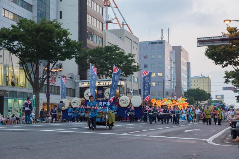 ねぶた祭開催
