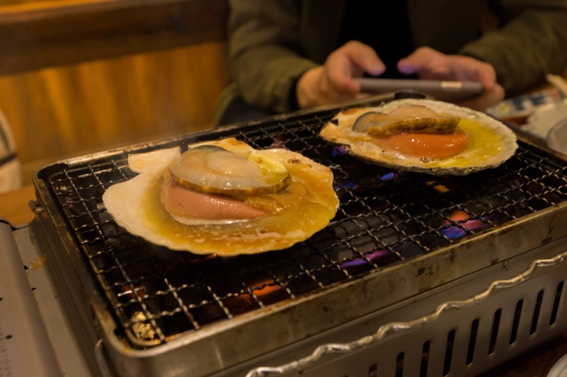 ホタテの調理方法