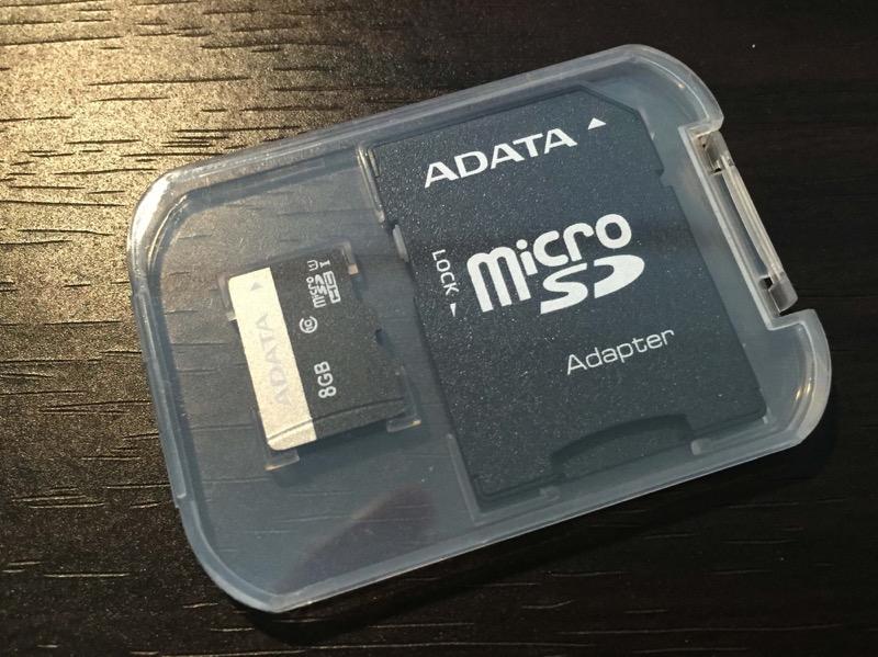 ドライブレコーダー付属SDカード