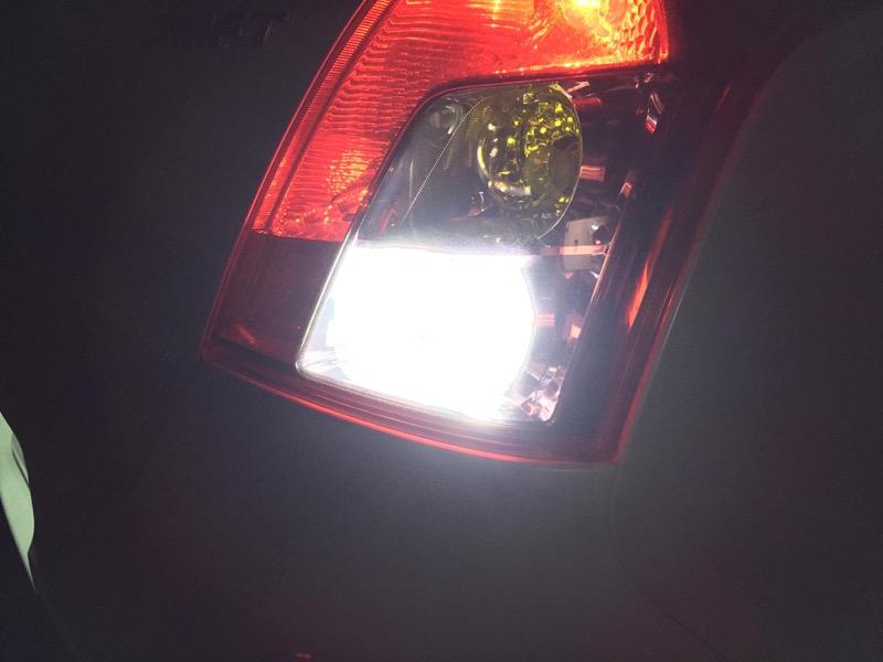 スイフトバックランプ LED化