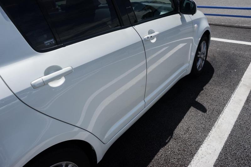 綺麗な車事故率