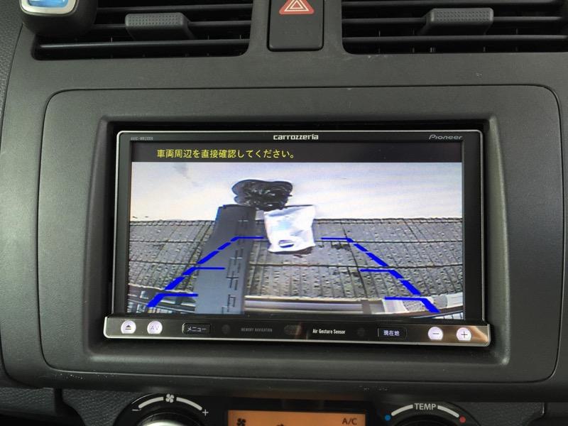 スイフトバックカメラ取り付け方法_バックカメラ配線