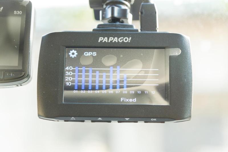 PAPAGO! GoSafe 30G製品レビュー_安全設定