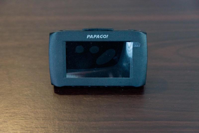 PAPAGO! GoSafe 30G製品レビュー_液晶見やすい