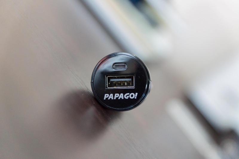 PAPAGO! GoSafe 30G製品レビュー_シガーソケット使い勝手