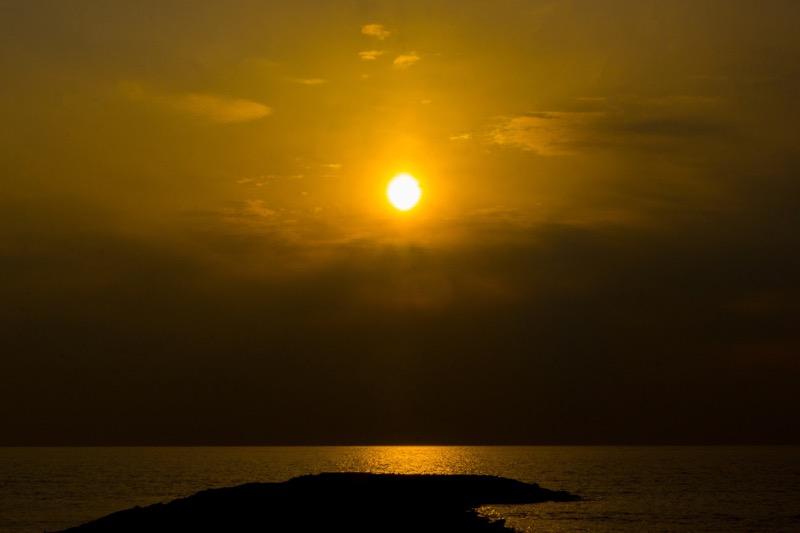 千葉県南房総_海_絶景_おすすめ観光スポット_夕暮れが綺麗な浜