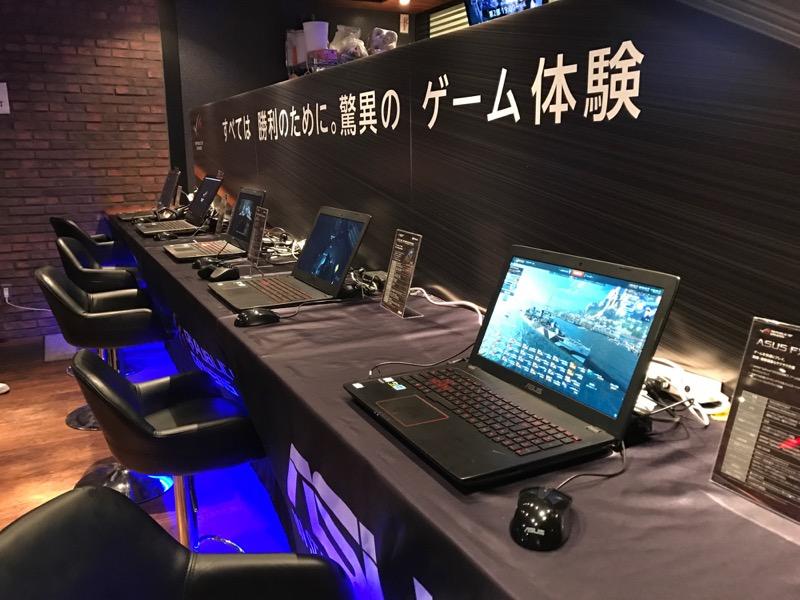 asus rog シークレットイベント_歴代ゲーミングノートパソコン