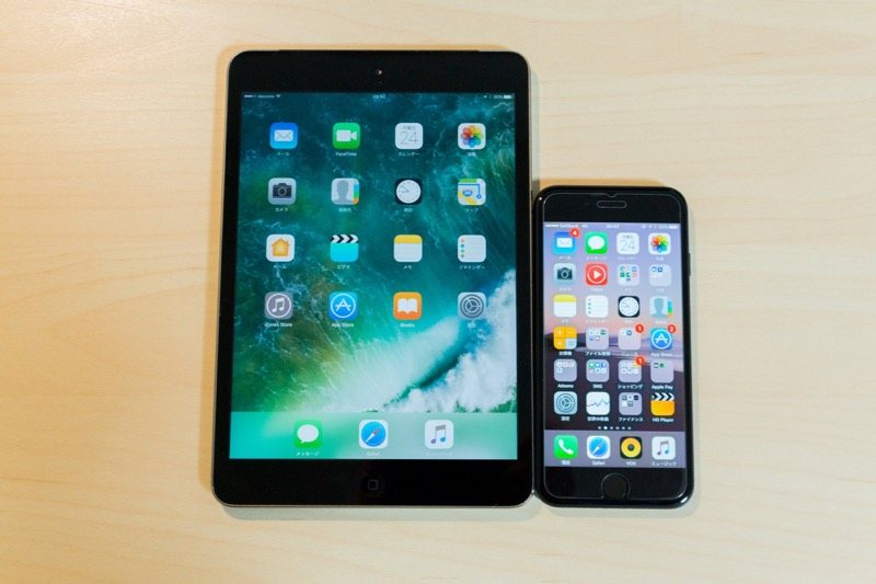 iPad mini2 SIMフリータブレット_格安simとの相性が抜群_ipad mini2 大きさ比較