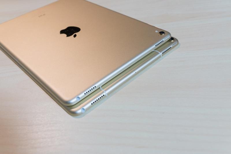 iPad Pro 10.5インチモデル(2017)_大きさ ipad pro 9.7と比較